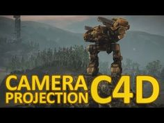 ▶ C4D: Camera Projection - YouTube