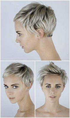 Very very cute elf ! New site Short Pixie Hairstyles Cute elf Site Short Pixie Haircuts, Pixie Hairstyles, Short Hair Cuts, Cool Hairstyles, Pixie Haircut Thick Hair, Girls Pixie Haircut, Curly Short, Popular Hairstyles, Hairstyle Ideas