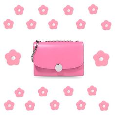 Pink flower power Card Case, Flower Power, Pink Flowers, Wallet, Cards, Maps, Playing Cards, Purses, Diy Wallet