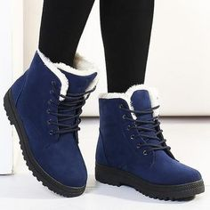 Toneway clothing snow shoes 2020 warm fur plush insole women winter boots square heels flock ankle boots women shoes lace up winter shoes woman – Winter Clothes Bloğ Boots For Short Women, Winter Shoes For Women, Boots Women, Ankle Snow Boots, Warm Snow Boots, Timberland Boots Outfit, Timberland Fashion, Timberland Waterproof Boots, Yellow Boots