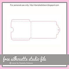 Gift card Cutting file Free