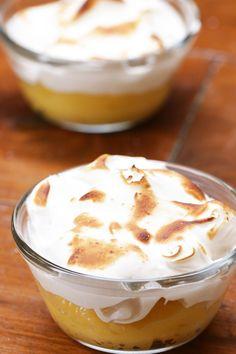 おもてなしにも♪レモンクリームのカップデザート