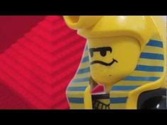 Learning about the pyramids with legos - a video, but a great idea for an activity to do with the boys'