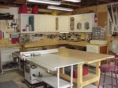 Woodshop Storage Cabinets | Utility Cabinet System for Your Basement or Garage Woodworking Plan