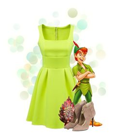 """""""Peter Pan"""" by bluetidegirl ❤ liked on Polyvore featuring Disney"""