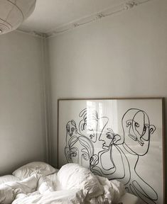 a curious twenty something living and creating in nyc//french bulldog puppymom Arty Bedroom, Bedroom Inspo, Bedroom Colors, Interior Exterior, Home Interior, Interior Decorating, My New Room, My Room, Interiores Design