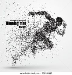 Find Running Man Particle Divergent Composition Vector stock images in HD and millions of other royalty-free stock photos, illustrations and vectors in the Shutterstock collection. Thousands of new, high-quality pictures added every day. Running Man, Ab Workout At Home, Workout Rooms, At Home Workouts, Ab Workouts, Divergent, Runner Tattoo, Stippling Art, Sports Graphic Design
