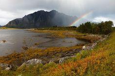 Landschap Lofoten, foto Eric Fokke