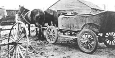This is a Bennett Buggy that was often used in Canada in the time of the great depression as cars did not have engines. This was known as the Bennett Buggy, due to the fact that R. E. Bennett was the prime minister at the time. This changed people into thinking the Bennett was not a good leader. This source is credible because it is from a legitimate website (www.graintransportmuseum.ca).