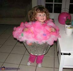 Upside-down l&shade + aluminum foil + some fluff and confetti u003d cute cupcake costume. Cupcake Halloween ...  sc 1 st  Pinterest & 56 best Fun homemade Halloween costumes images on Pinterest ...