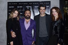 Myriam Catania, Ildo Damiano, Luca Argentero, Violante Placido Mia D'Arco party in Rome  #party #miadarco #jewels #fashion #girl #model