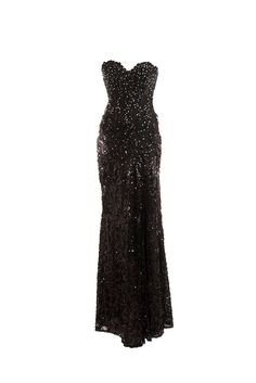 Tony Bowls Strapless Gown