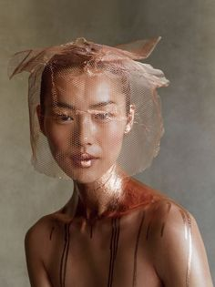 This shot of Liu Wen dipped in copper by Demarchelier in the new Vogue is the stuff of dreams! Love it!