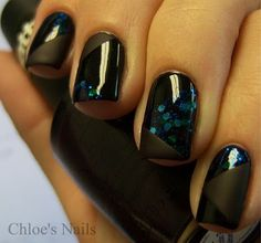 Deborah Lippmann Across the Universe, Sinful Black on Black and OPI Lincoln Park After Dark Matte