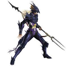 Final Fantasy IV (DS) -  Kain Highwind (Dragoon)