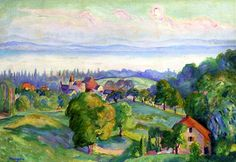 Henri Manguin_Colombier, The Chateau, 1915 (photo by BoFransson, via Flickr)
