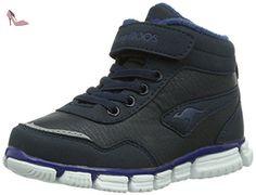 KangaROOS Inlite 3004, Baskets mode bébé garçon - Bleu (Dk Navy/Ultramarine 449), 28 EU - Chaussures kangaroos (*Partner-Link)