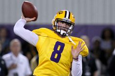 5. LSU QB Zach Mettenberger SEC Football Players Who Had Best Pro Days in 2014