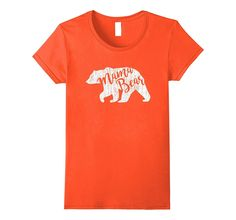 Papa Mama Bear T-shirt - Family Outfit: Mama Bear Grunge Tee