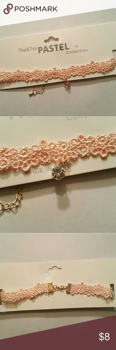 Lace Choker New Lace material 2/$15 Jewelry Necklaces