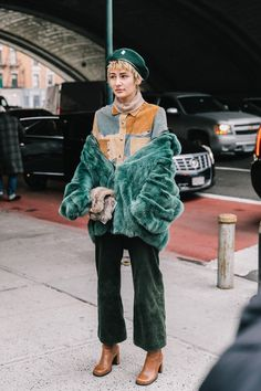 STREETSTYLE  Street Style #NYFW / Día 2
