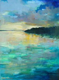 landscape painting by erin fitzhugh gregory Landscape Art, Landscape Paintings, Watercolor Paintings, Abstract Landscape Painting, Impressionist Paintings, Watercolor Artists, Watercolor Landscape, Abstract Paintings, Oil Paintings