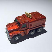 Vintage Matchbox Rolamatics Diecast Toy Car: 1973 Orange No. 16 Badger