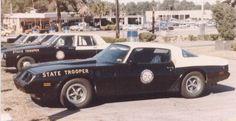 Pontiac police cruisers