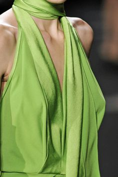 DVF | Fall 2012: Green