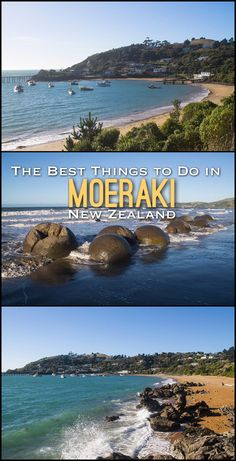 The best things to do in Moeraki, New Zealand, including the famous Moeraki Boulders and wildlife spotting.