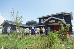 ガーデナー西屋さんのお話を聞いて、お庭のお手入れスタート【第4回こころの庭プロジェクト(14/08/07)】