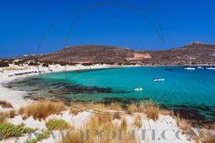 Simos beach in Elafonisos, Peloponnese, Greece