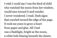 Moon in the Window Dorianne Laux