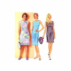 Misses Dress and Bag Butterick 3019 Sewing Pattern