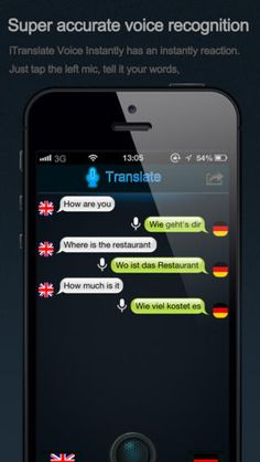 iVoice Translator - http://en.softmonk.com/ios/ivoice-translate-instantly/ #ios #speech