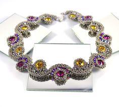 Under & Over it Necklace Beading Kit - Liisa Turunen Designs