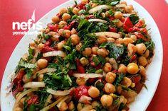 Nohut Salatası (Közlenmiş Biberli) Tarifi nasıl yapılır? 1.614 kişinin defterindeki bu tarifin resimli anlatımı ve deneyenlerin fotoğrafları burada. Yazar: ⭐ Nuran'ın Mutfağı ⭐