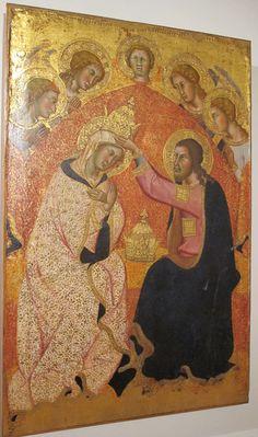 Bartolo di Fredi - Incoronazione della Vergine - Pinacoteca Nazionale Siena