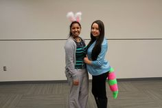 Students dress up for Halloween at the Manchester University College of Pharmacy