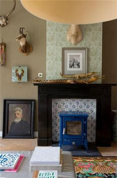 Wallpaper! fireplace!    Maison à vendre: 5211 40, rue Luijben BT 's-Hertogenbosch - Photos [fondations]