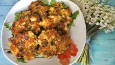 Kotlety z kurczaka, pieczarek i sera Cauliflower, Low Carb, Chicken, Meat, Vegetables, Cooking, Recipes, Blog, Anna