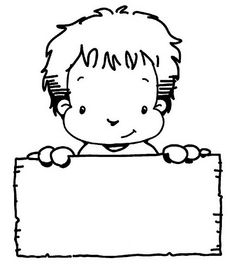 - Colouring Pages, Adult Coloring Pages, Cute Kids Crafts, School Clipart, School Games, Kindergarten Art, Child Day, Writing Paper, First Day Of School