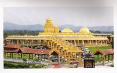 golden-temple-sripuram-vellore-Beautiful Hindu Temples around the World (pictures) | http://picsgrid.com/beautiful-hindu-temples-around-the-world/