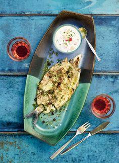 Kananmuna-lohivuoka | Kala, Arjen nopeat, Gluteeniton | Soppa365 Kala