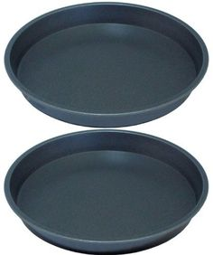"Professional Fixed Base 8"" Victoria Sandwich Pan, Cake Tin Twinpack Lets Cook   £9.99"