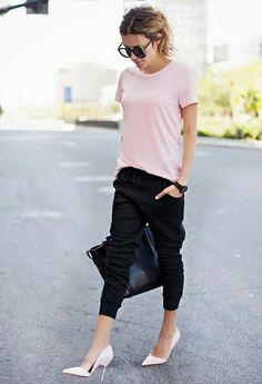 Peach shirt outfits