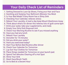 Fly Lady Daily Reminders I'm already doing them! Just add Swish n swipe bathroom. - Fly Lady Daily Reminders I'm already doing them! Just add Swish n swipe bathroom and the 15 min d - Fly Lady Cleaning, Zone Cleaning, Cleaning Hacks, Life Planner, Happy Planner, Planner Ideas, Cleaning Baking Sheets, Fly Quotes, Italian Language