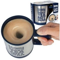 Mug mélangeur automatique  (A retrouver sur : gadget-fun.fr)