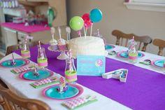 Balloon theme birthday party