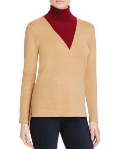 Timo Weiland Lauren Layered Effect Turtleneck Sweater